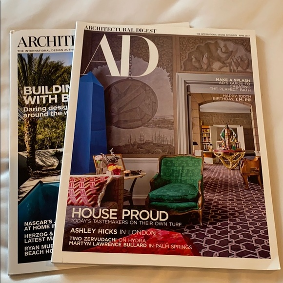 Architectural Digest AD 2 from 2017